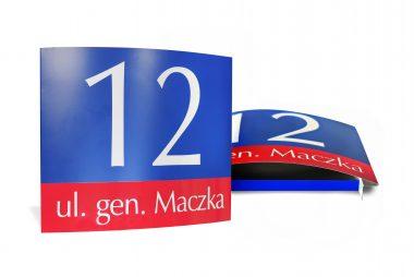 Tablice adresowe - Warszawska
